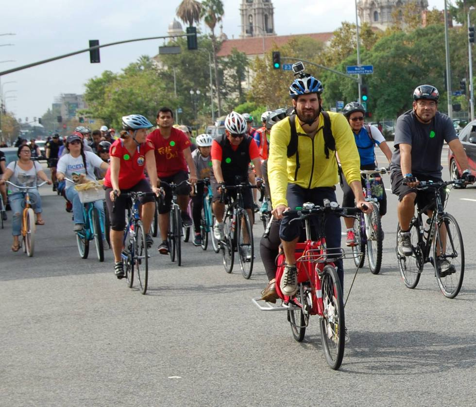 Bike on Fig to CicLAvia Event attracted 80 participants October 2015
